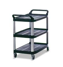 rubbermaid service cart with cabinet 3 tier utility cart sso handling storage