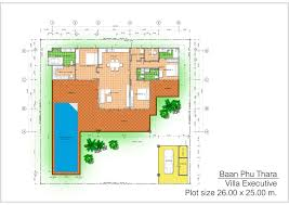 villa floor plans plot floor plans thai country homes