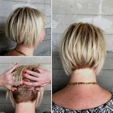 short hair with length at the nape of the neck bob hairstyles short to medium length stacked inverted bob