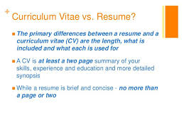cv vs resume the differences ocr additional science coursework help business plan writer
