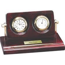 Wood Desk Clock Magnetic Dart Board