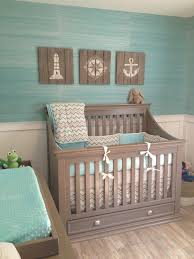 Bedroom Chair Rail Ideas U0027s Coastal Inspired Nursery Project Nursery