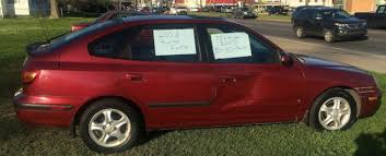 hyundai accent gt 2003 2003 hyundai elantra gt hatchback 5 door burgundy gray 75k
