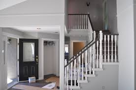 Definition Banister A Progress Post Our White Railings With A Dark Handrail Suburble