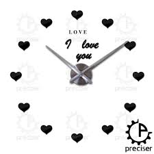 Silent Wall Clock Popular Letters Wall Clock Buy Cheap Letters Wall Clock Lots From