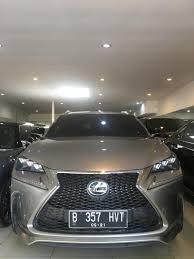 lexus indonesia bekas mobil bekas lexus nx 200 sport th 15 pk 16 at