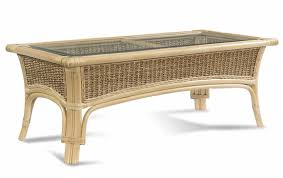 rattan table tropical breeze coffee table