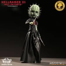 living dead dolls hellraiser iii glow in the dark pinhead variant
