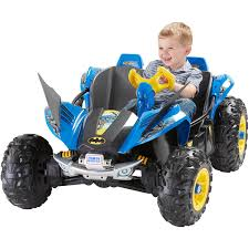 toddler motorized car fisher price power wheels batman dune racer battery powered ride