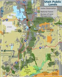 Maps Of Utah by File Utah Public Lands Map Png Wikimedia Commons