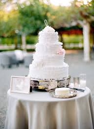 cake table wedding inspiration style me pretty