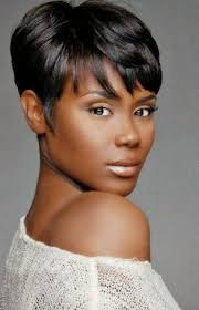 short hairstyles with black color effect yishifashion