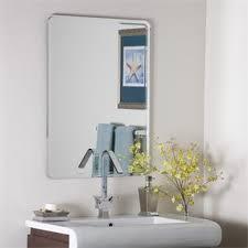 frameless bathroom mirrors homeclick