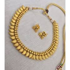 woman necklace holder images Buy fashion jewellery traditional mango design necklace set jpg