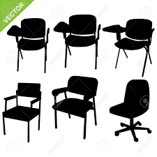 Office Chair Clipart Chair Silhouettes Royalty Free Cliparts Vectors And Stock