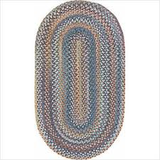 Braided Rugs Capel Rugs American Legacy Slate Blue Braided Rug Garden Cottage