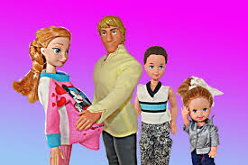 human barbie doll family disney frozen dream anna barbie nightmare kristoff frozen barbie