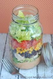 easy mason jar southwest salad recipe my frugal adventures