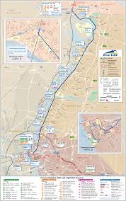hudson bergen light rail map jersey light rail map subway mapsof