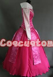 coscustom high quality princess aurora dress sleeping beauty