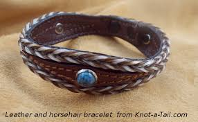 leather bracelet with beads images Leather bracelets leather bracelets and horsehair bracelets from JPG