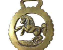 Horse Bridle Decorations Horse Medallion Etsy