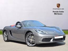pistonheads porsche boxster used 2017 porsche boxster roadster 718 2dr pdk for sale in