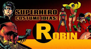 Red Robin Halloween Costume Superhero Costume Ideas Robin Halloween Costumes Blog