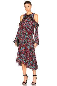 no 049 preen line kim dress plum floral 100 viscose made in