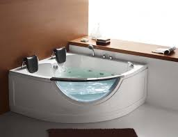 steam planet 59 x 59 two person corner rounded whirlpool tub