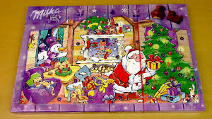milka chocolate advent calendar