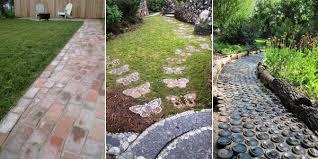 garden paths 17 beautiful and easy diy garden paths