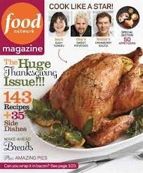 food network magazine november 2012 the thanksgiving issue