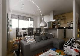 Kitchen Design For Apartment by Japan Style Apartment Beige Couch Shiny Wood Floors Create Warm