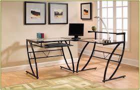 u shaped glass desk u shaped desk ikea home design ideas