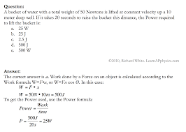learn ap physics physics 1 and 2 work and energy