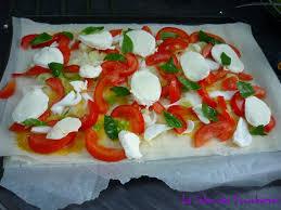 cuisiner la feuille de brick pizza à la feuille de brick la salsa des fourchettes