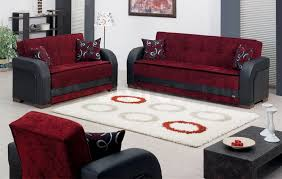 Sofa Set Images With Price Sale 1258 00 Paterson 2 Pc Black And Burgundy Sofa Set Sofa And