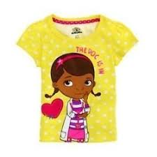 kids fashion doc mcstuffins girls clothes free shipping