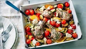 Mediterranean Style Food - bbc food recipes mediterranean style lamb chops