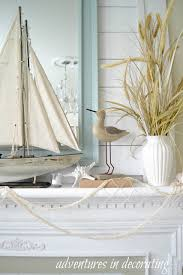 Sailboat Bathroom Accessories by Adventures In Decorating Coastal Mantle Beach House Pretty