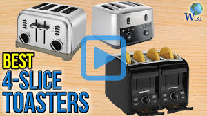 Under Cabinet 4 Slice Toaster by Top 10 4 Slice Toasters Of 2017 Video Review