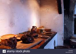 pots pans jugs meat all in the great kitchens at hampton court