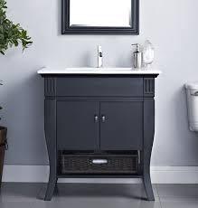 camino 30 inch bathroom vanity solid birch with cherry veneer