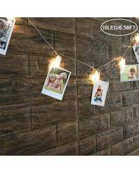 battery powered hanging l sweet deal on led photo clip string lights fome led photo clips