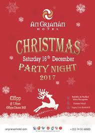 an grianan christmas parties 2017