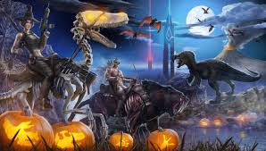 xbox halloween background pc dinosaur game ark u0027s halloween update lets you fight zombie dodo
