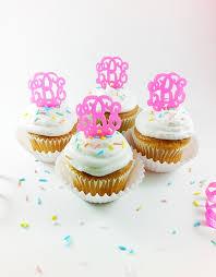 monogram cupcake toppers monogram cupcake toppers recipes monogram cupcakes