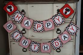 red tractor case ih themed happy birthday banner