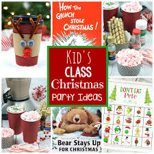 party ideas for kids 25 kids christmas party ideas squared